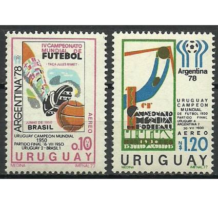 Znaczek Urugwaj 1977 Mi 1457+1463 Czyste **
