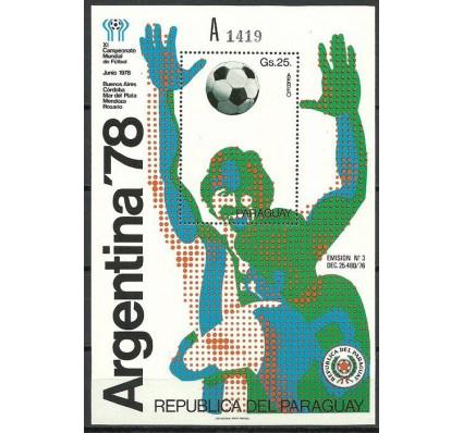 Znaczek Paragwaj 1978 Mi bl 324a Czyste **