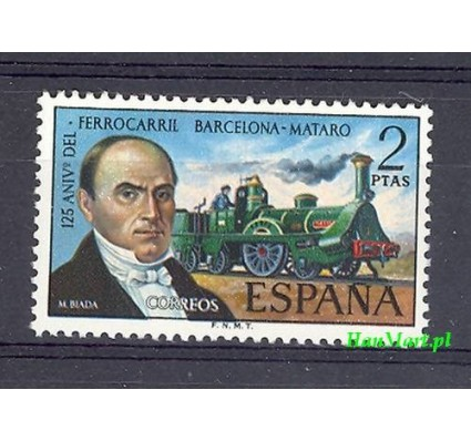 Znaczek Hiszpania 1974 Mi 2068 Czyste **
