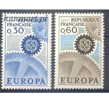 Francja 1967 Mi 1578-1579 Czyste **