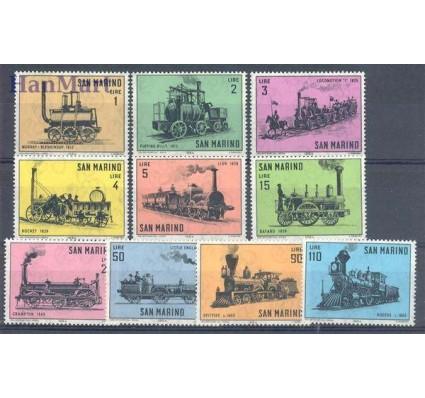 Znaczek San Marino 1964 Mi 814-823 Czyste **