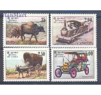 Znaczek Sri Lanka 1983 Mi 633-636 Czyste **