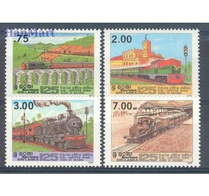Znaczek Sri Lanka 1989 Mi 899-902 Czyste **