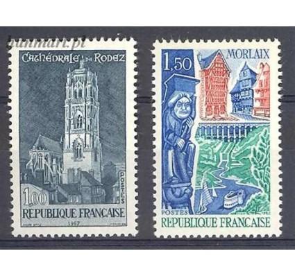 Znaczek Francja 1967 Mi 1585-1586 Czyste **