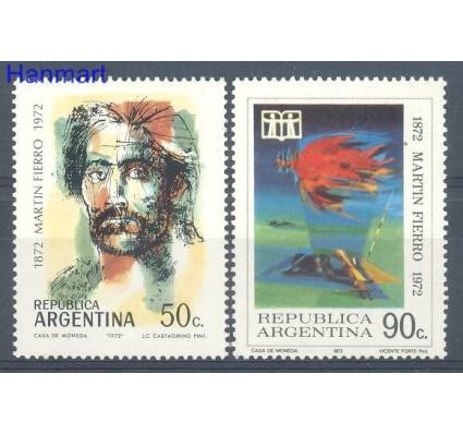 Znaczek Argentyna 1972 Mi 1133-1134 Czyste **