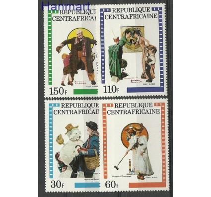 Znaczek Republika Środkowoafrykańska 1982 Mi 821-824 Czyste **