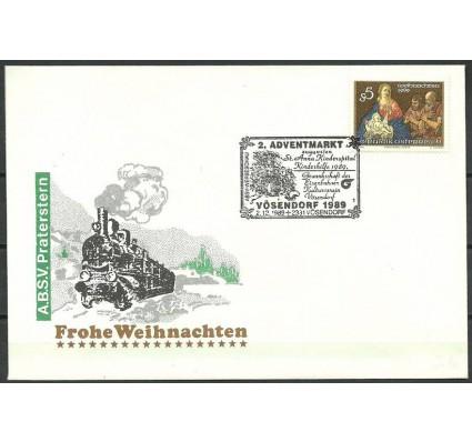 Znaczek Austria 1989 Mi 1977 FDC