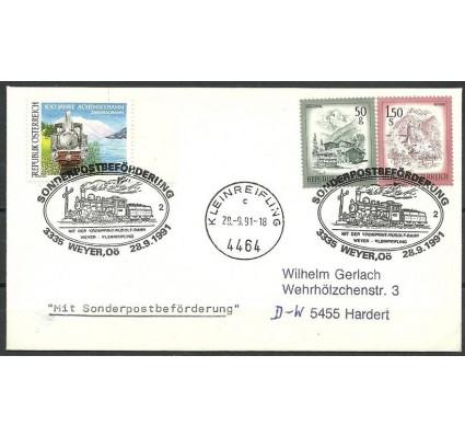 Znaczek Austria 1989 Mi 1962+1475+1439 FDC