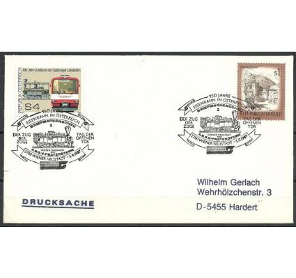 Znaczek Austria 1976 Mi 1854+1476 FDC