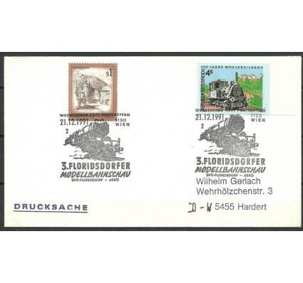 Znaczek Austria 1975 Mi 1476+1916 FDC