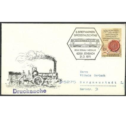 Znaczek Austria 1969 Mi 1303 FDC