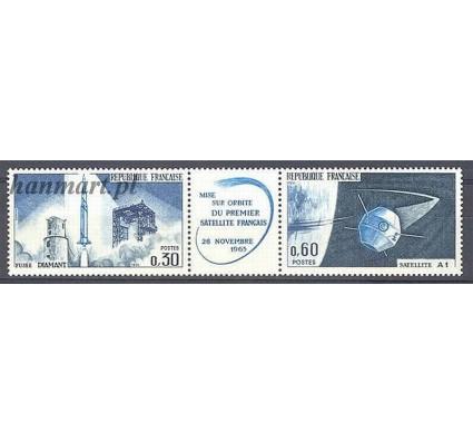 Francja 1965 Mi 1530-1531 Czyste **
