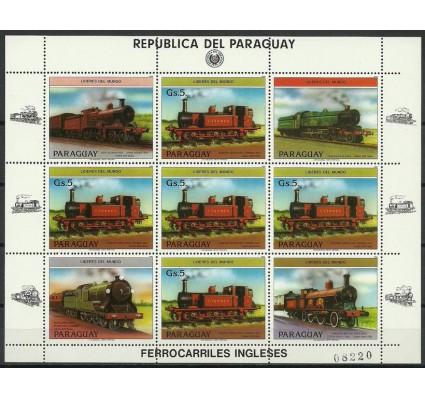 Znaczek Paragwaj 1984 Mi ark 3785 Czyste **