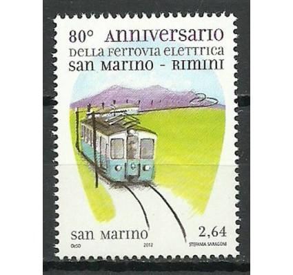 Znaczek San Marino 2012 Mi 2534 Czyste **
