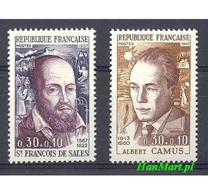 Znaczek Francja 1967 Mi 1588-1589 Czyste **