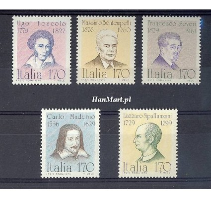 Znaczek Włochy 1979 Mi 1652-1656 Czyste **