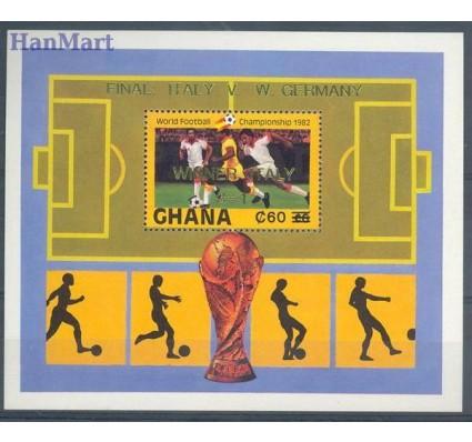 Znaczek Ghana 1984 Mi bl 104 Czyste **