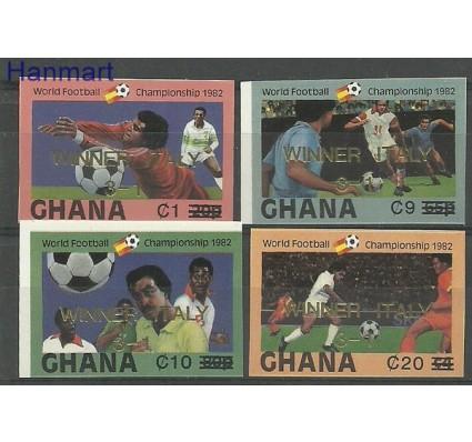 Znaczek Ghana 1983 Mi 968-971B Czyste **