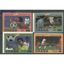 Ghana 1983 Mi 968-971B Czyste **
