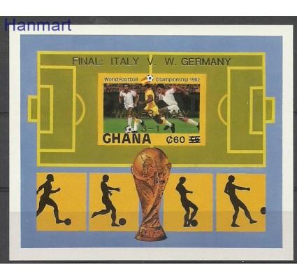 Znaczek Ghana 1983 Mi bl99B Czyste **
