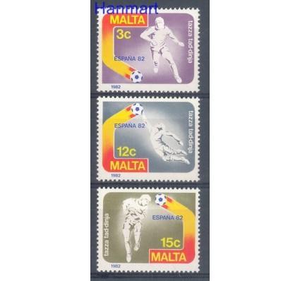 Znaczek Malta 1982 Mi 663-665 Czyste **