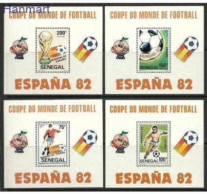 Znaczek Senegal 1982 Mi bl 42-45 Czyste **