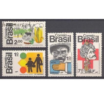 Znaczek Brazylia 1972 Mi 1352-1355 Czyste **