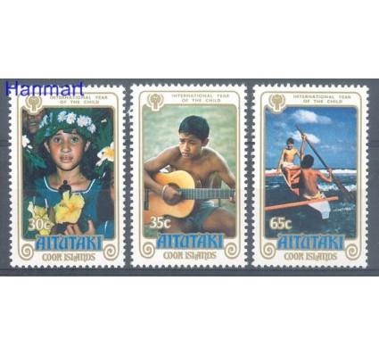 Znaczek Aitutaki 1979 Mi 310-312 Czyste **