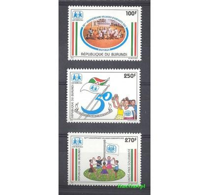Znaczek Burundi 1999 Mi 1841-1843 Czyste **