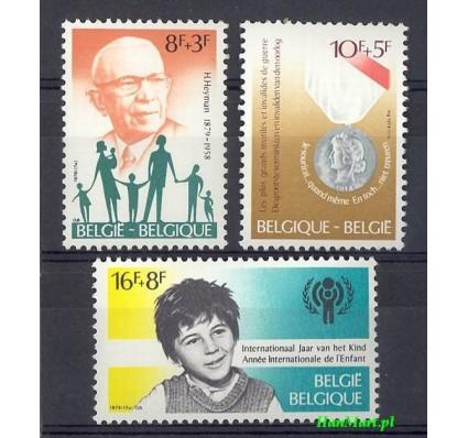 Znaczek Belgia 1979 Mi 2007-2009 Czyste **
