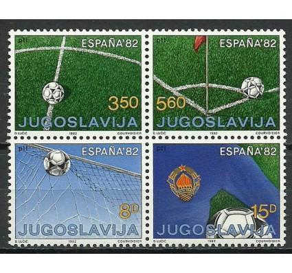Znaczek Jugosławia 1982 Mi 1921-1924 Czyste **
