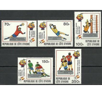 Znaczek Wybrzeże Kości Słoniowej 1982 Mi 746-750 Czyste **
