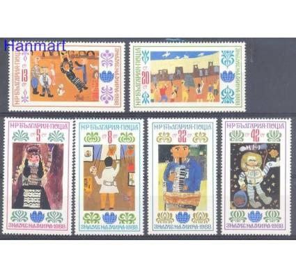 Znaczek Bułgaria 1988 Mi 3649-3654 Czyste **
