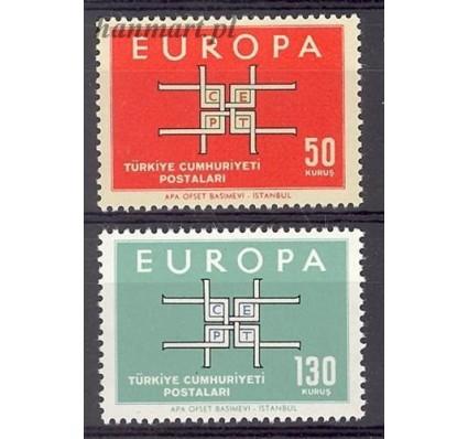 Turcja 1963 Mi 1888-1889 Czyste **