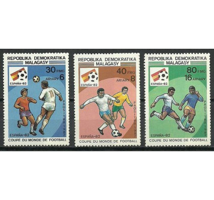 Znaczek Madagaskar 1982 Mi 898-900 Czyste **