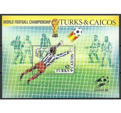 Znaczek Turks i Caicos 1982 Mi bl 37 Czyste **