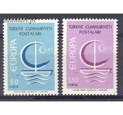 Znaczek Turcja 1966 Mi 2018-2019 Czyste **