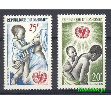 Znaczek Dahomej 1964 Mi 242-243 Czyste **