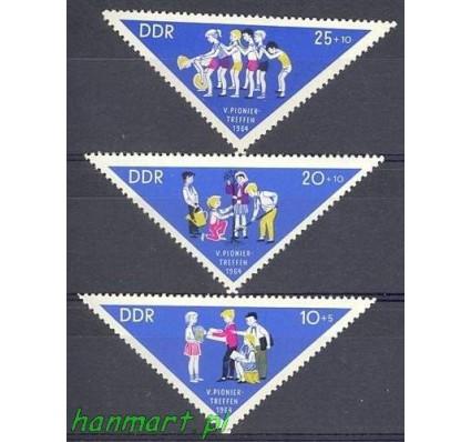 Znaczek NRD / DDR 1964 Mi 1045-1047 Czyste **