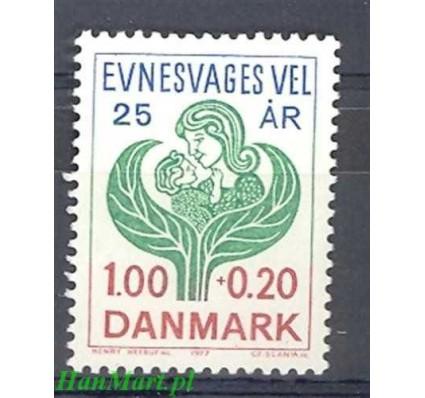 Znaczek Dania 1977 Mi 638 Czyste **