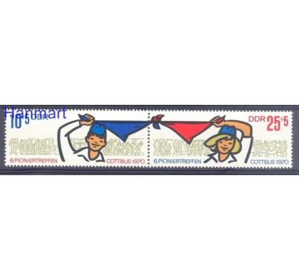 Znaczek NRD / DDR 1970 Mi 1596-1597 Czyste **