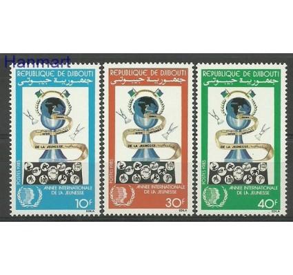 Znaczek Dżibuti 1985 Mi 436-438 Czyste **