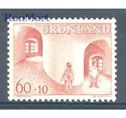 Znaczek Grenlandia 1968 Mi 70 Czyste **