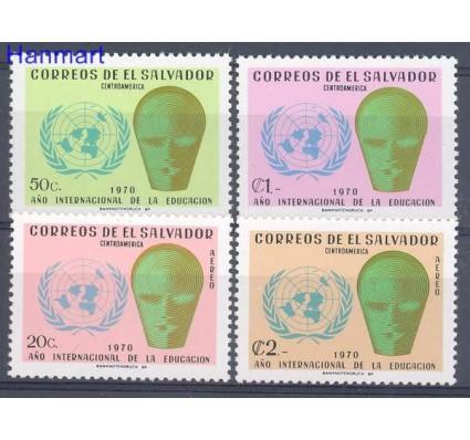 Znaczek Salwador 1970 Mi 1027-1030 Czyste **