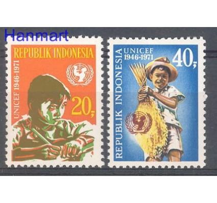 Znaczek Indonezja 1971 Mi 696-697 Czyste **