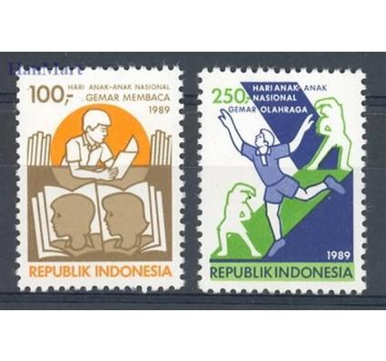 Znaczek Indonezja 1989 Mi 1303-1304 Czyste **