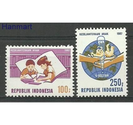 Znaczek Indonezja 1987 Mi 1233-1234 Czyste **