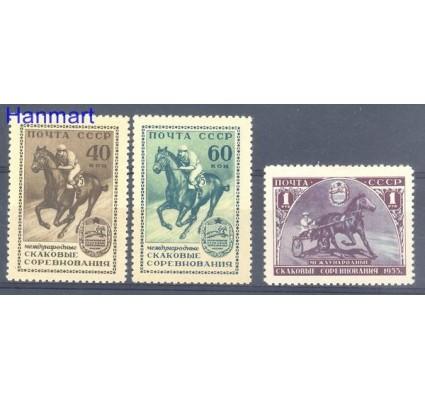 Znaczek ZSRR 1956 Mi 1798-1800 Czyste **
