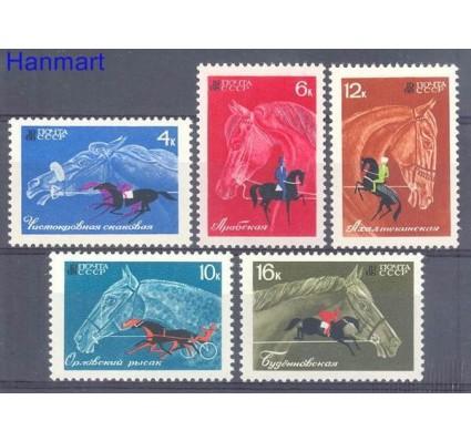 Znaczek ZSRR 1968 Mi 3458-3462 Czyste **