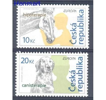 Znaczek Czechy 2006 Mi 472-473 Czyste **
